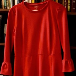 Kate Spade red holiday dress formal work Medium